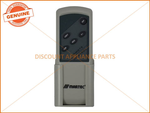 MARTEC CEILING FAN REMOTE CONTROL PART # MPREM
