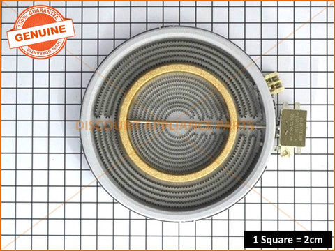 WESTINGHOUSE CHEF SIMPSON COOKTOP ELEMENT DUAL PART # NZ75123