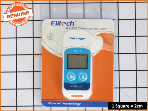 ELITECH USB TEMPERATURE DATA lOGGER URC-5 # RC-5