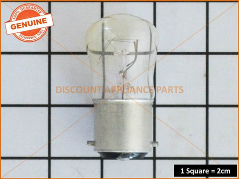WESTINGHOUSE REFRIGERATOR LAMP 15W BC CLEAR PART # RF035
