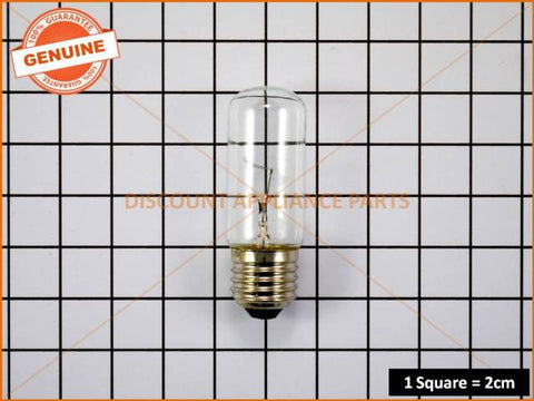 ELECTROLUX REFRIGERATOR LAMP 40W ES LONG BULB T29 TUB PART # RF080