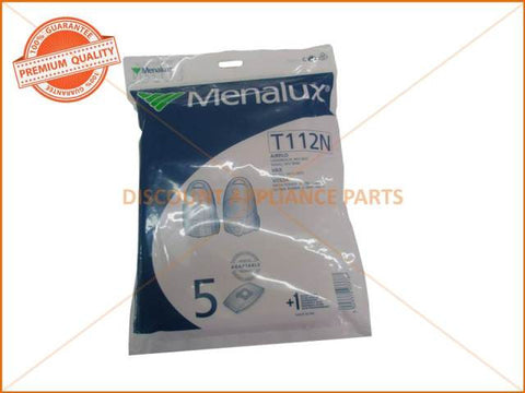 MENALUX VACUUM BAGS SUIT VOLTA ( PACK OF 5 )  PART # T112N
