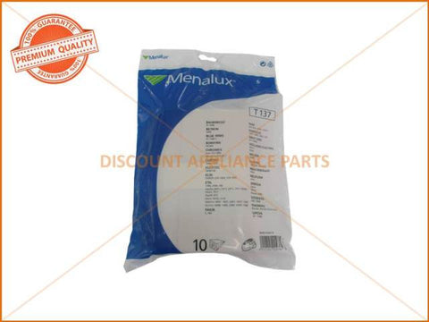 MENALUX VACUUM BAG SUITS: BAUKNECHT, BLUE WIND & BOMAN (PACK OF 5) PART # T137**NO LONGER AVAILABLE**