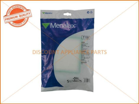 MENALUX VACUUM BAG SUITS: VOLTA, TORNADO & PROGRESS (PACK OF 5) PART # T159