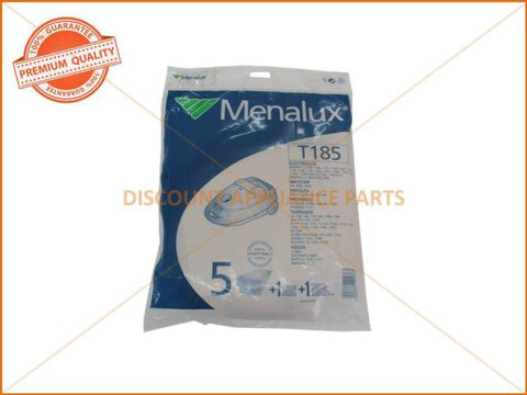 MENALUX VACUUM BAG SUITS: ELECTROLUX, PROGRESS & VOLTA (PACK OF 5) PART # T185
