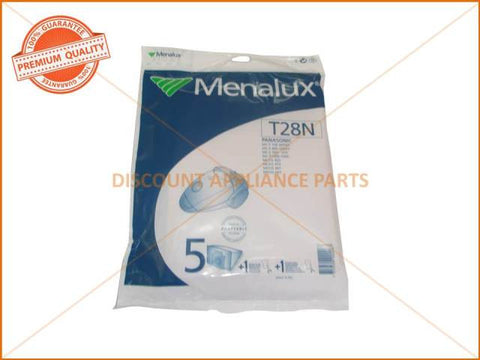 MENALUX VACUUM BAGS SUIT PANASONIC ( PACK OF 5 )  PART # T28N #2702