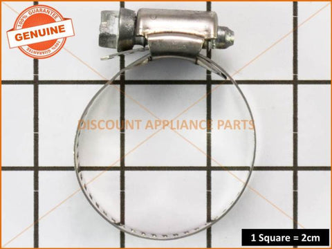SIMPSON WESTINGHOUSE ELECTROLUX WASHING MACHINE CLAMP HOSE (PACK OF 10) PART # W011B