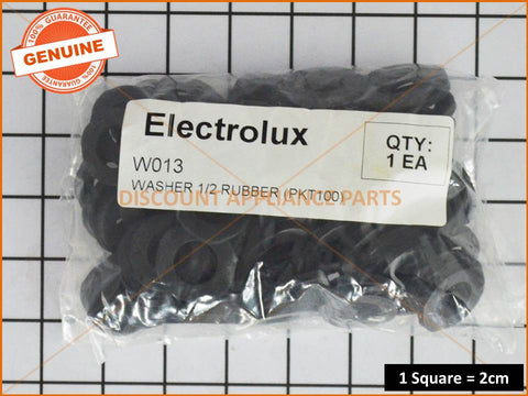 ELECTROLUX WASHING MACHINE WASHER 1/2 RUBBER (PACK OF 100) PART # W013