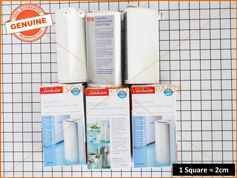 3 x SUNBEAM WATER FILTER PART # WF0700