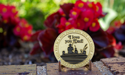 Father's Day Challenge Coin