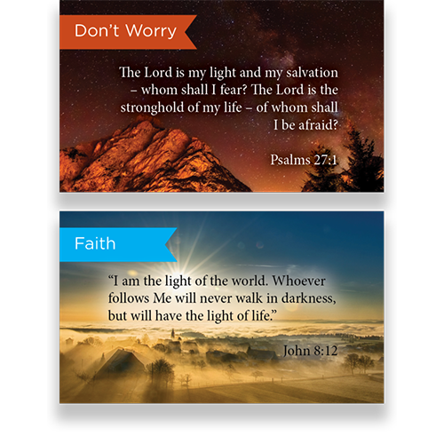 Pass Along Scripture Cards Variety Pack of 60 - Assortment 3