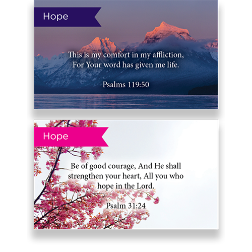 Pass Along Scripture Card Variety Pack of 60 - 1 of all 60 designs