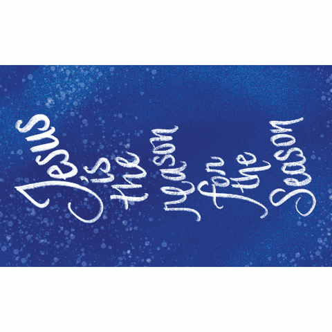 Christmas, Pass Along Scripture Cards, Jesus is the Reason for the Season, Pack of 25