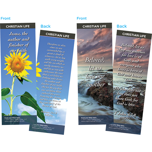 Bible Verse Bookmarks Variety Pack of 60 - Assortment 5