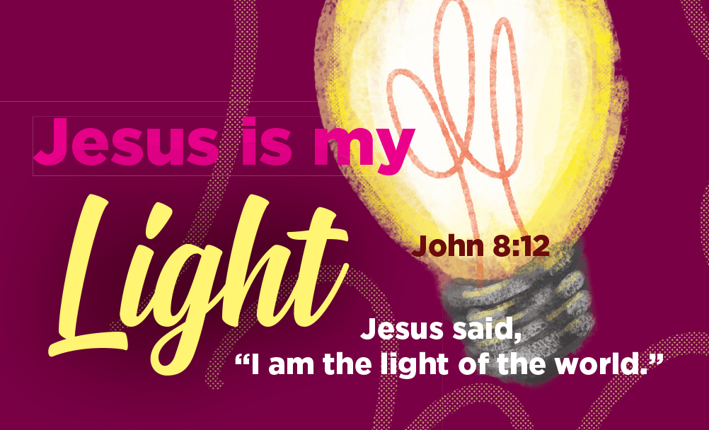 Children and Youth, Pass Along Scripture Cards, Jesus is my Light, John 8:12, Pack of 25 - Logos Trading Post, Christian Gift
