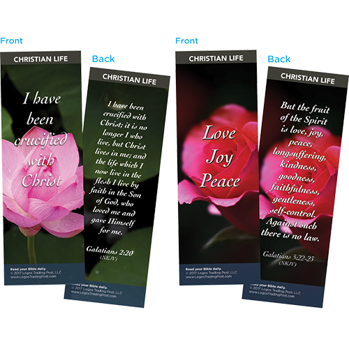 Bible Verse Bookmarks Variety Pack of 60 - Assortment 11