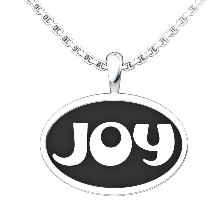 Joy Sterling Silver Pendant with 18 inch chain
