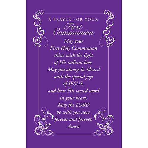 First Communion - Medium Deluxe Comfort Cross in Gift Box