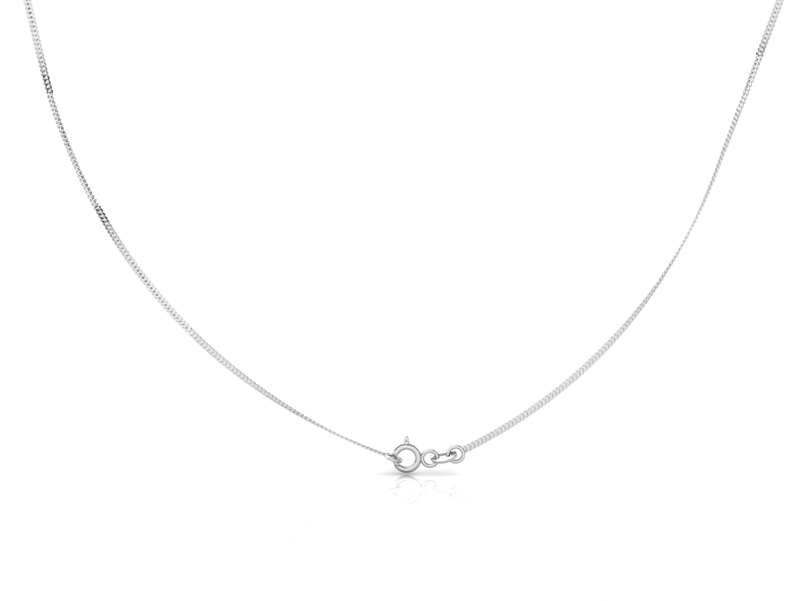 Sterling Silver Chain - Curb (1.6mm)