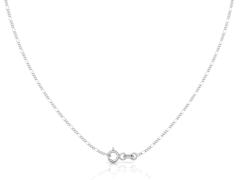 Sterling Silver Chain - Figaro (1.6mm)