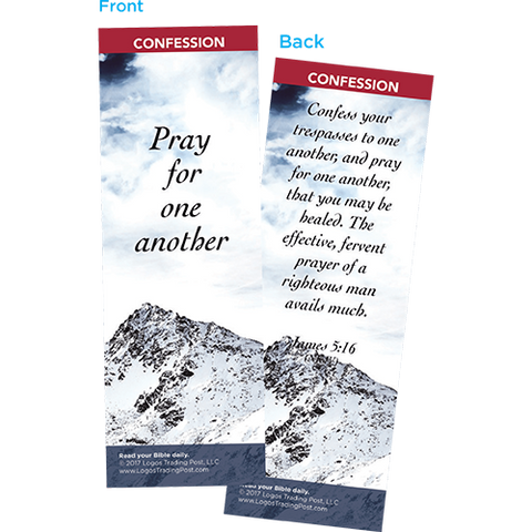 Pray for One Another Bookmarks, Pack of 25 - Christian Bookmarks