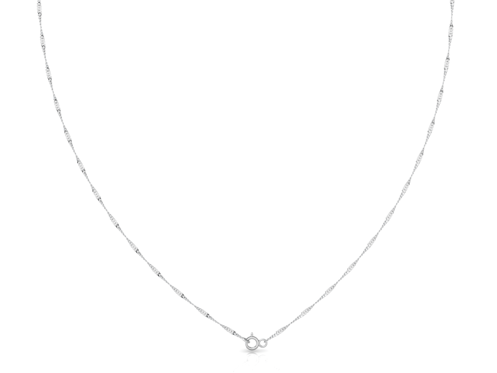 "Robe (2mm) Sterling Silver Chain, 18"", 20"", 24"", 30"""