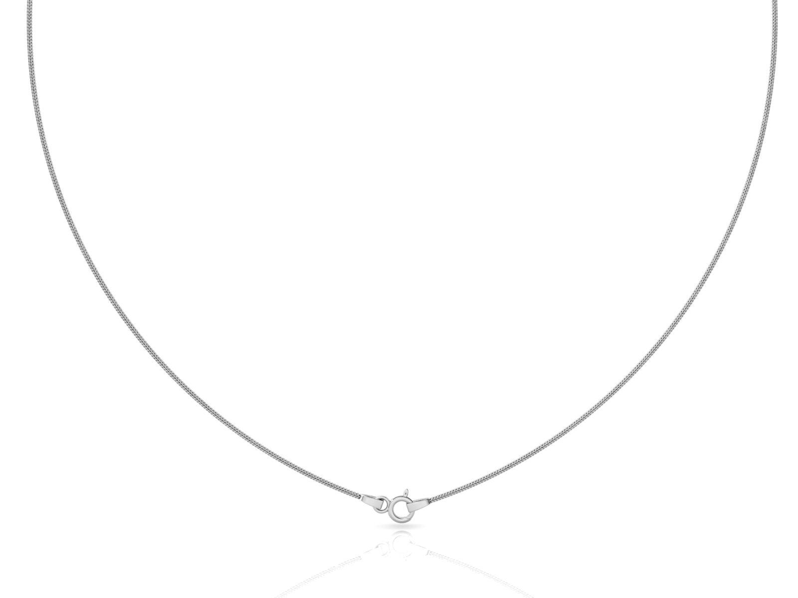 "Snake (1.5mm) Sterling Silver Chain, 18"", 20"", 24"", 30"""