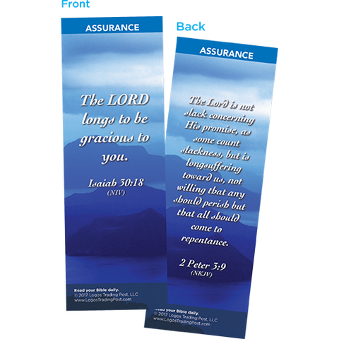 The Lord Longs to Be Gracious to You Bookmarks, Pack of 25