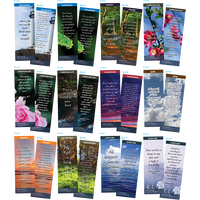 Bible Verse Bookmarks Variety Pack of 60