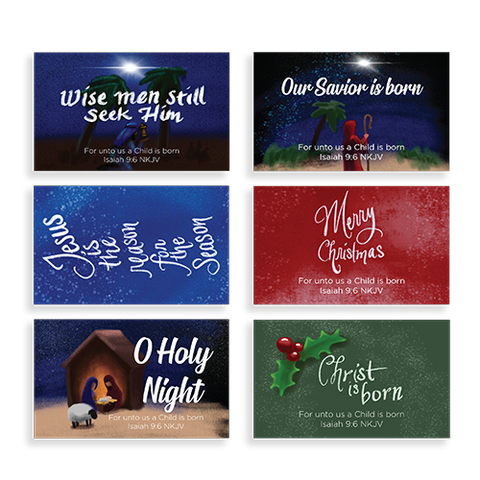Christmas Spirit Pass Along Card Variety Pack Assortment, Holiday Season Special