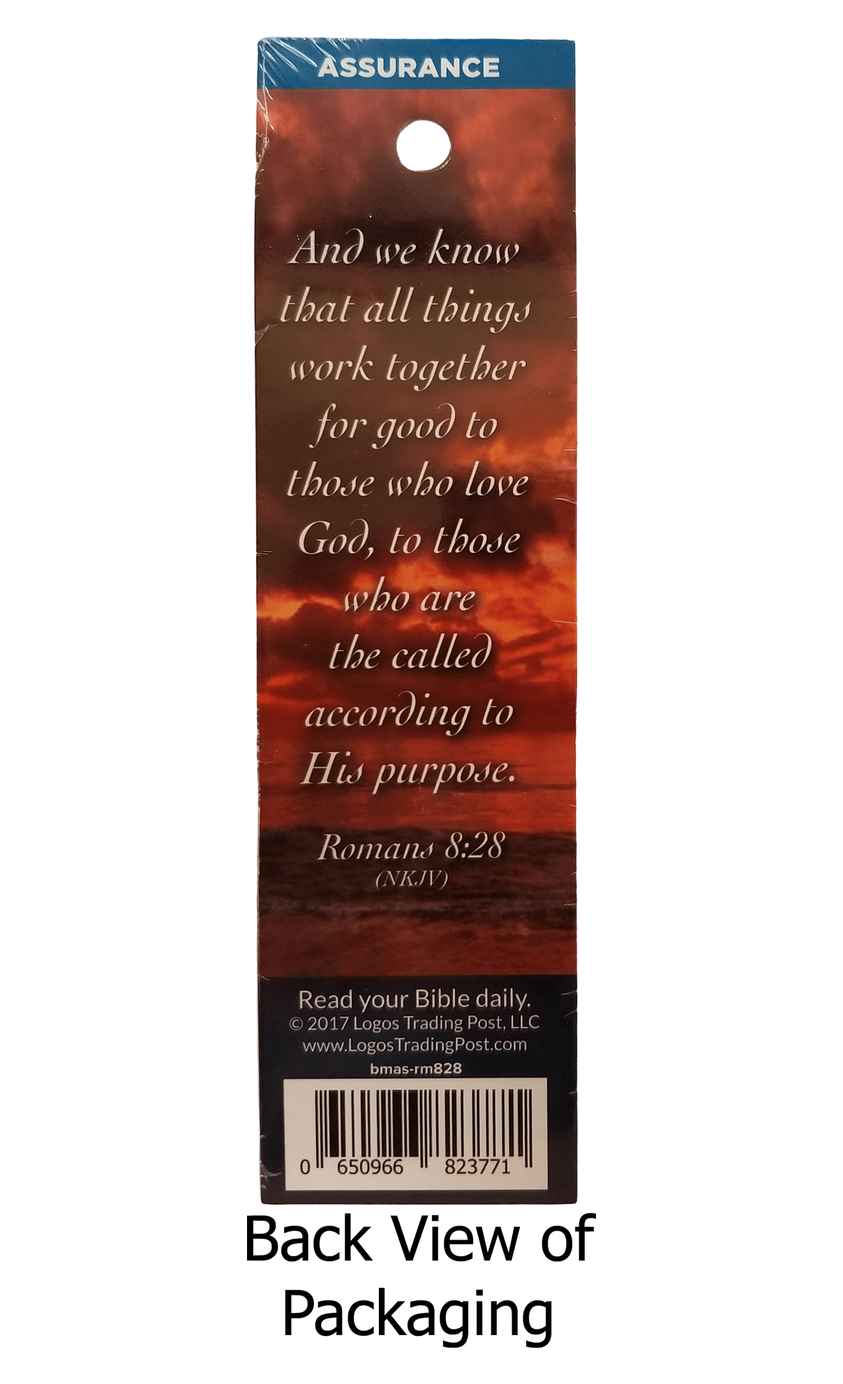 All Things Work Together for Good Bookmarks, Pack of 25 - Logos Trading Post, Christian Gift