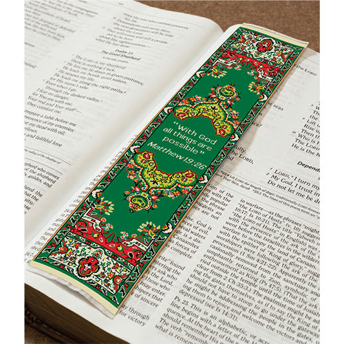 Logos BookMark - All Things Possible - Matthew 19:26