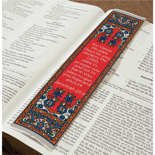 Logos Bookmark - I Know the Plans - Jeremiah 29:11