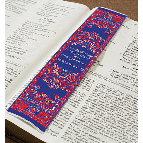 Logos Bookmark - All Things - Philippians 4:13