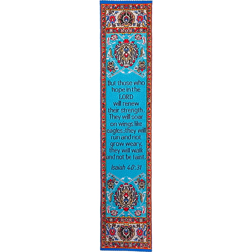 Logos Bookmark - Wings Like Eagles - Isaiah 40:31