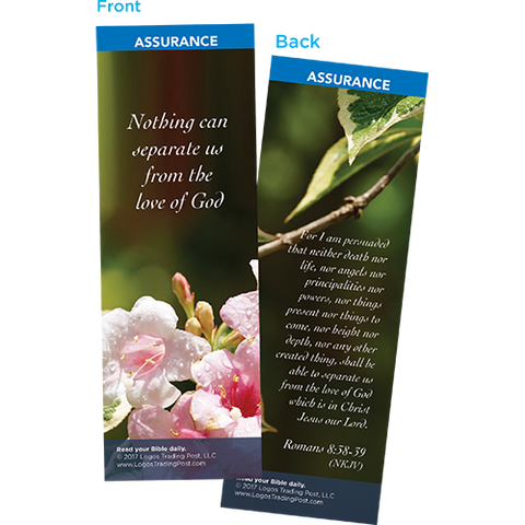 Nothing Can Separate Us From the Love of God Bookmarks, Pack of 25 - Christian Bookmarks