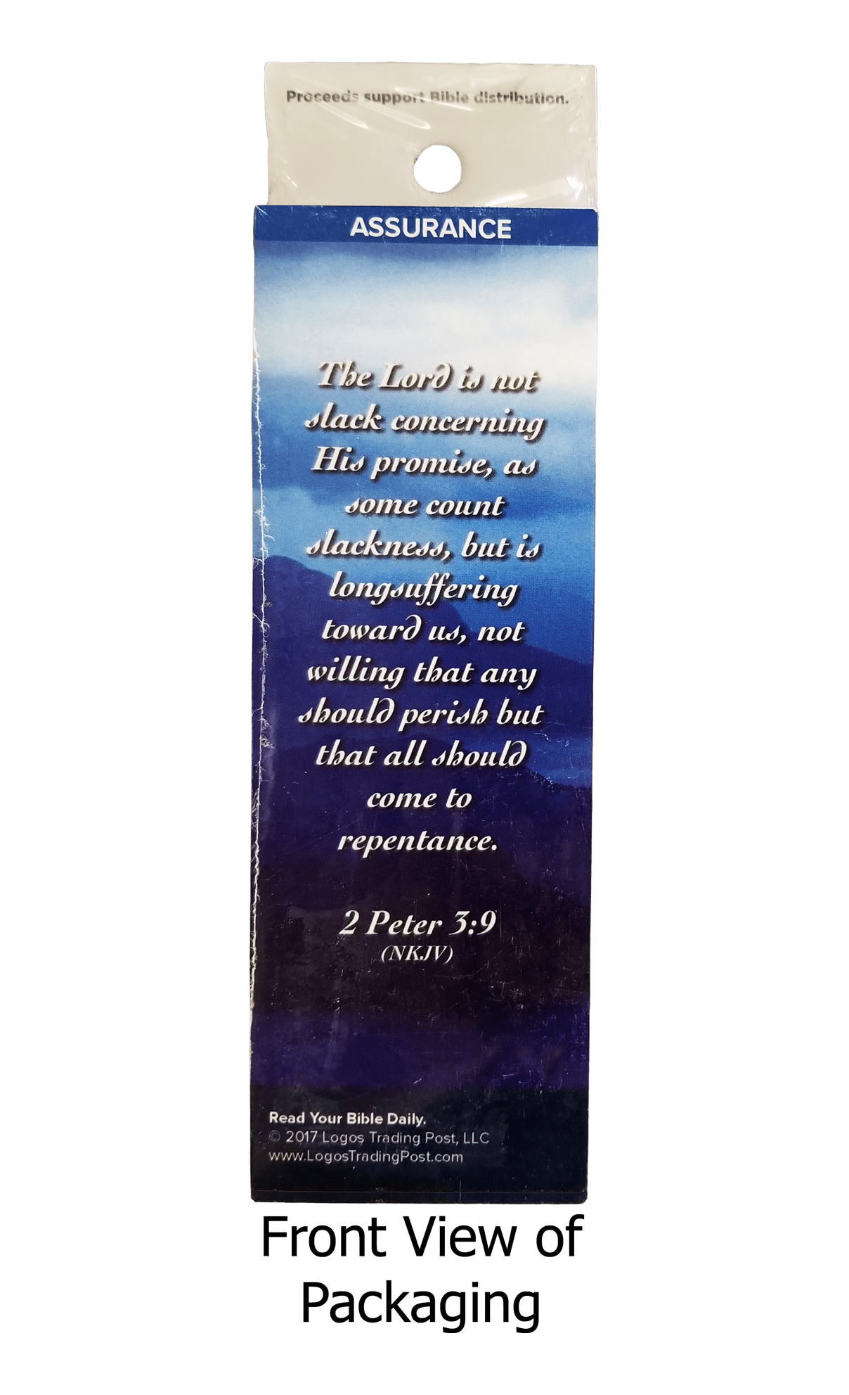 The Lord Longs to Be Gracious to You Bookmarks, Pack of 25 - Logos Trading Post, Christian Gift