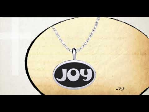 360 degree view of Joy Sterling Silver Pendant