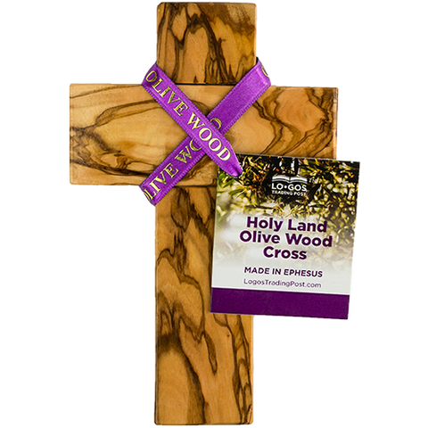 "6.5"" Olive Wood Wall Cross"