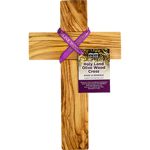 "10"" Olive Wood Wall Cross"