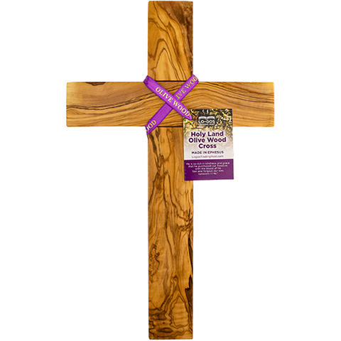 "14"" Olive Wood Wall Cross"