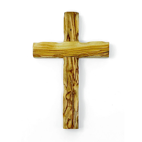 Holy Land Olive Wood Wall Cross - Small