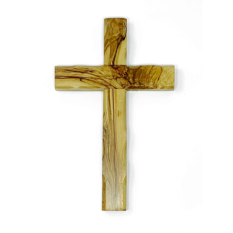 Holy Land Olive Wood Wall Cross - Large