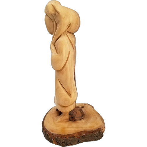 Holy Land Olive Wood Statue - Shepherd Boy King David