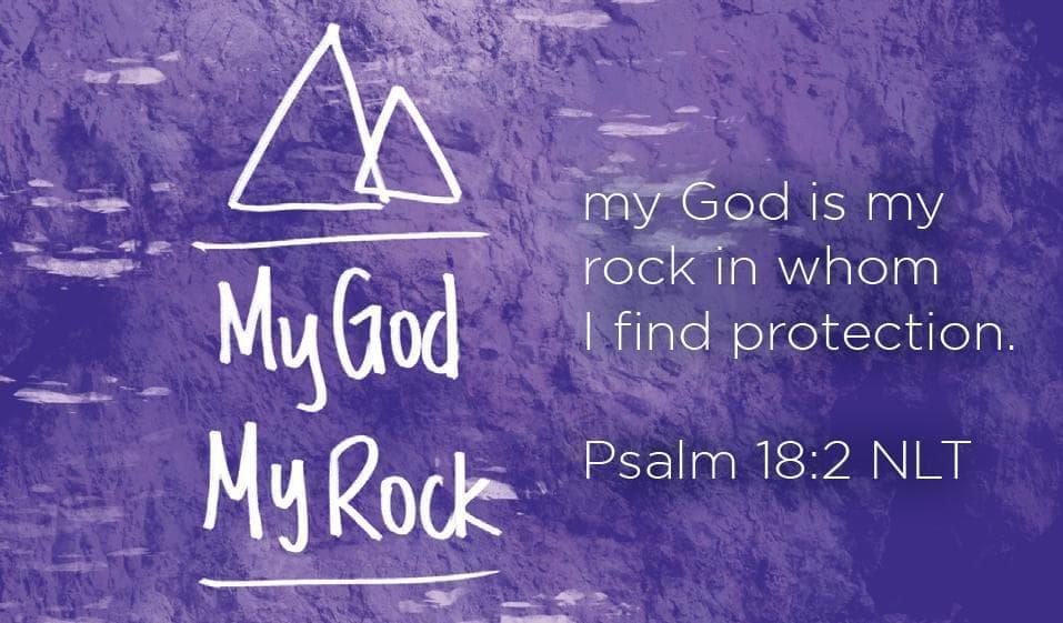 Children's Pass Along Scripture Cards - God is My Rock, Pack of 25 - Logos Trading Post, Christian Gift
