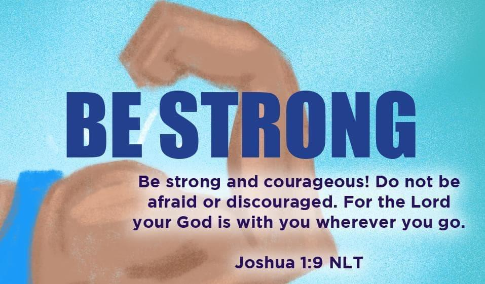 Children's Pass Along Scripture Cards - Be Strong, Pack of 25 - Logos Trading Post, Christian Gift