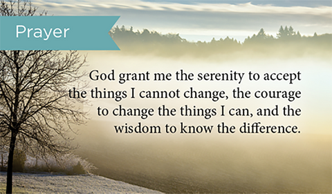 Serenity Prayer, Pass Along Scripture Cards, Pack 25