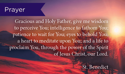 Pass Along Scripture Cards, St. Benedict Prayer, Pack 25 - Logos Trading Post, Christian Gift