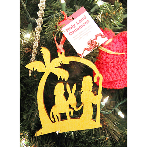 Tree of Life Ornament, Holy Land Nativity Journey