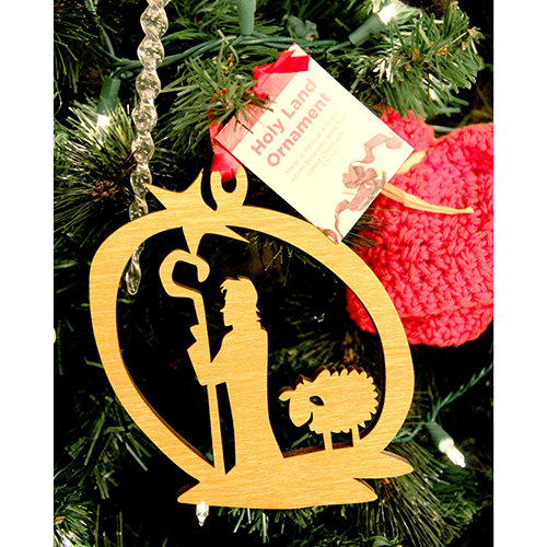 Holy Land Shepherd and Star Tree of Life Ornament